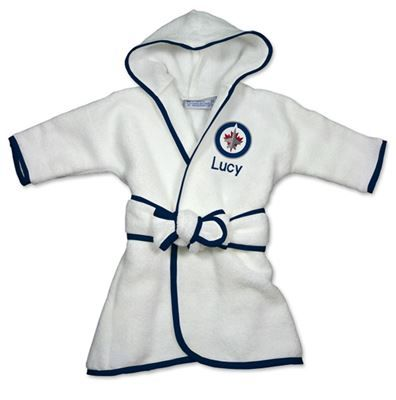 9 best winnipeg jets baby gifts images on pinterest baby gifts officially licensed personalized winnipeg jets robe will keep your little nhl fan snuggly warm and cozy negle Image collections