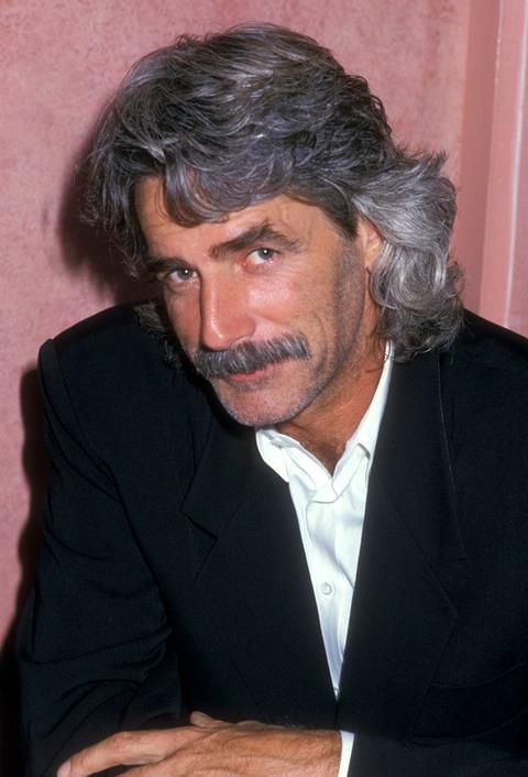 Sam Elliott.. good looking man....