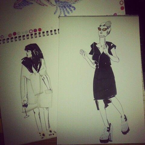 prove #sketch #fashion #moda