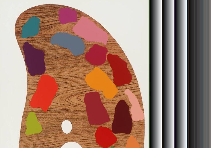 Jim Dine, 'Palette II' 1969