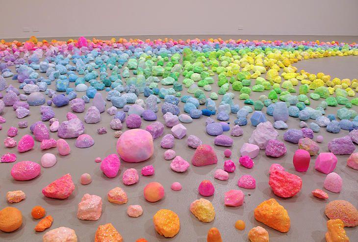 Pip & Pop: sparkly art installations that tickle your rainbow bone