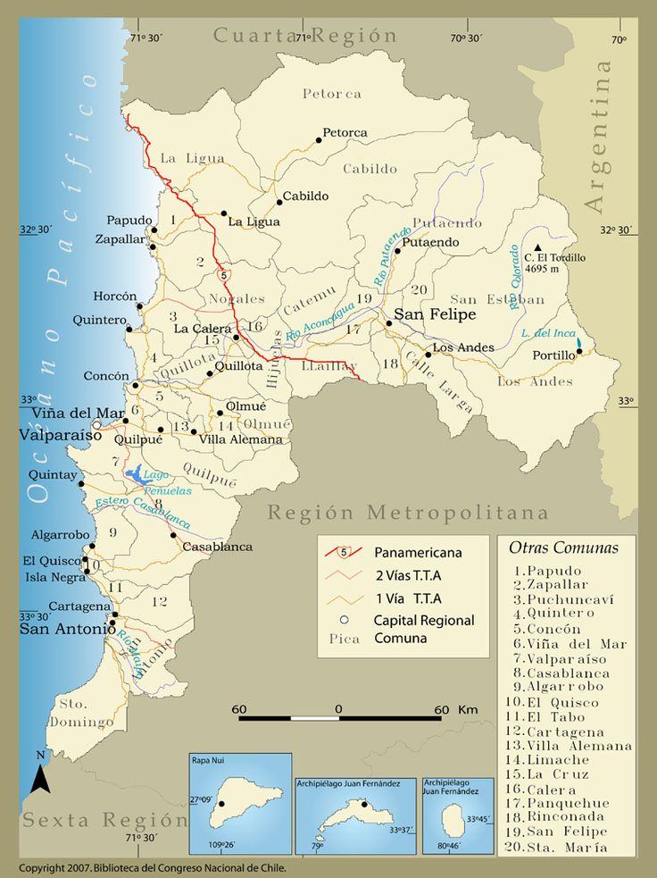5 Región de Valparaiso