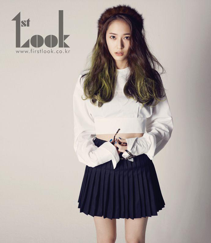 TVXQ Yunho, Super Junior Lee Teuk, SNSD Seo Hyun and f(x) Krystal - 1st Look Magazine