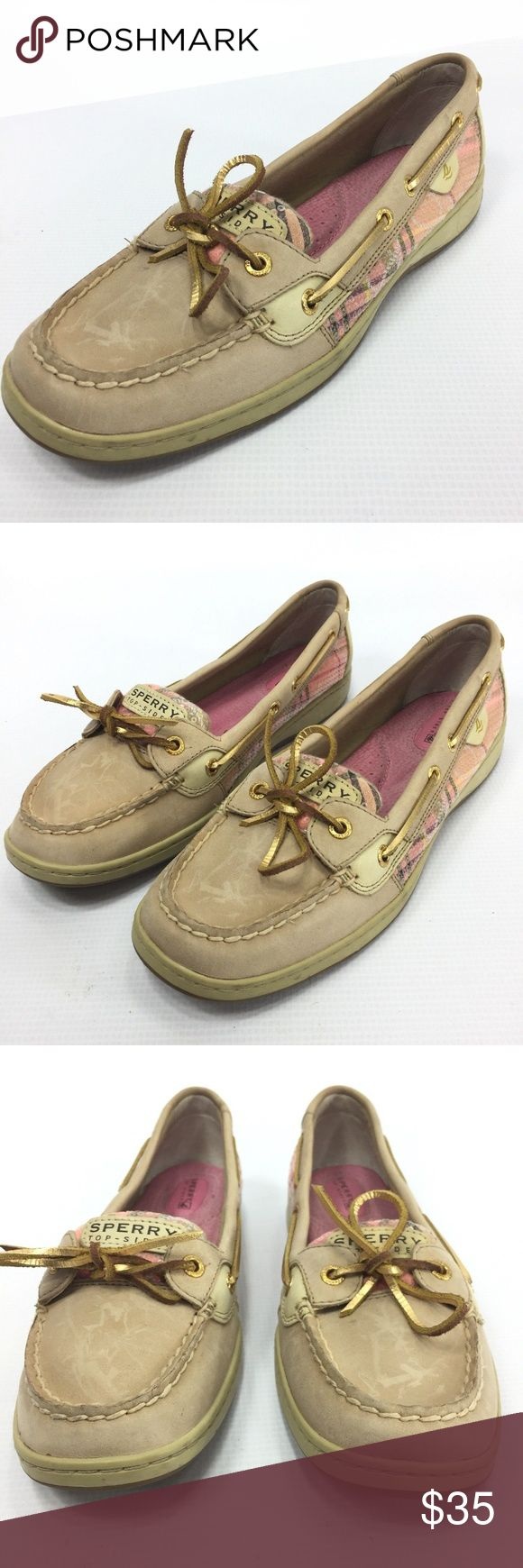 SPERRY Top Sider AngelFish 2 Eyelet Loafer 9.5 SPERRY Top Sider AngelFish Women's 2 Eyelet Loafer Moccasin Sequin 9.5  Flaw Free; See Photos for Details  The item will be shipped either the same or next day  Send me a message if you have any questions Sperry Shoes Flats & Loafers