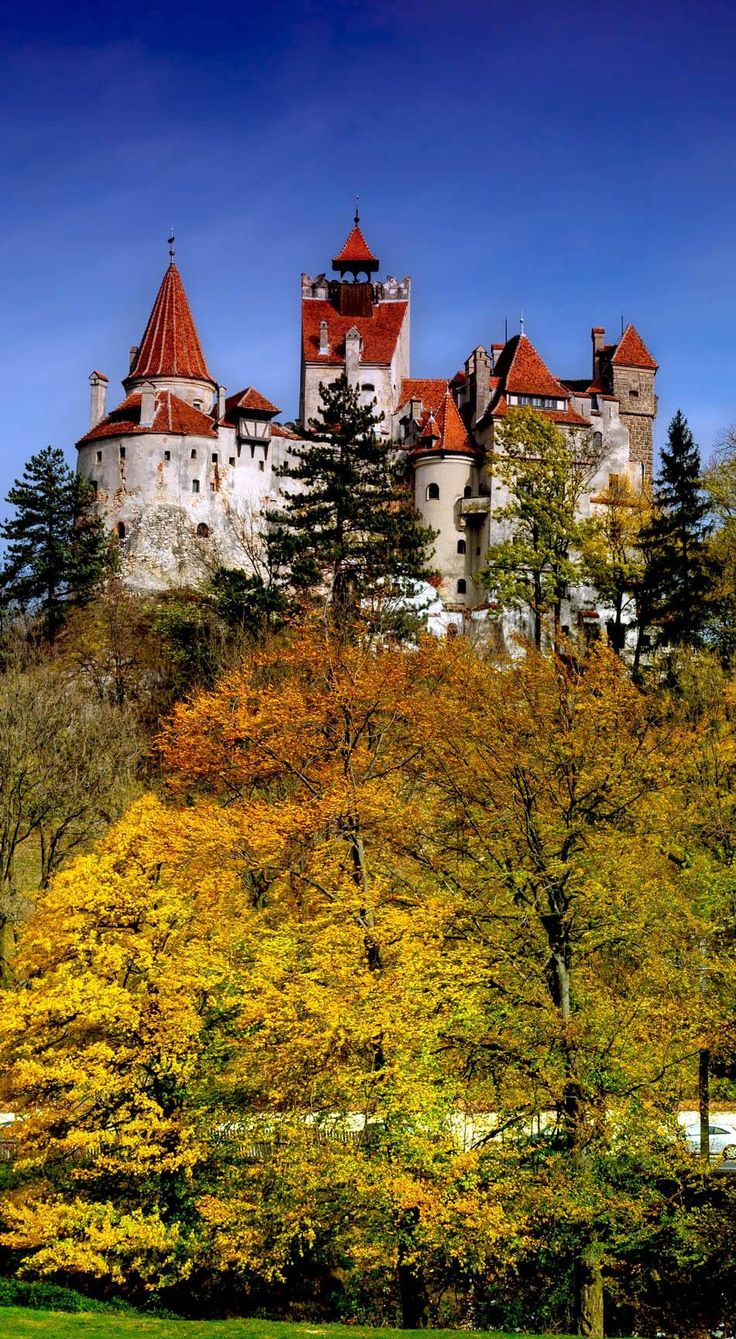 Bran Castle, commonly known as Dracula's Castle, in Romania | 10 Most Beautiful Castles in Europe