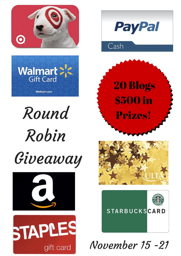 gift card giveaway flyer