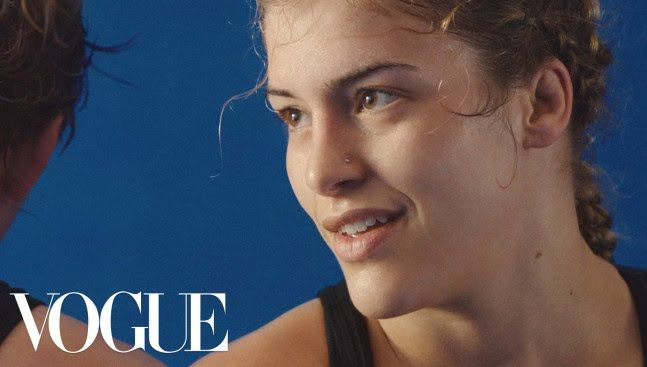 Olympic Wrestler Helen Maroulis Fights Like a Girl http://www.youtube.com/watch?v=VofXC2nT1v8 #Vogue #Fashion