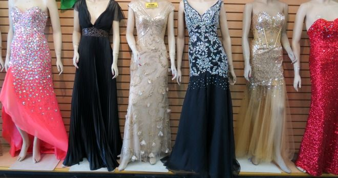 Prom dresses at the la fashion district prom pinterest for Santee alley wedding dresses