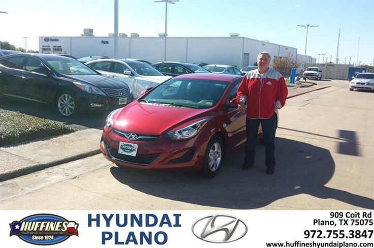 https://flic.kr/p/NRm25A | #HappyAnniversary to Roy and your 2015 #Hyundai #Elantra from Everyone at Huffines Hyundai Plano! | www.deliverymaxx.com/DealerReviews.aspx?DealerCode=H057