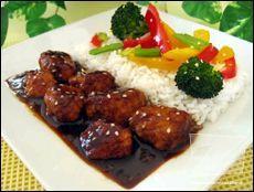 Poulet du Général Tao (délicieux) ajoutez tout plein de légumes avec ça et doublez ou triplez la sauce!