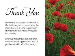 Image result for images of condolence thank you cards