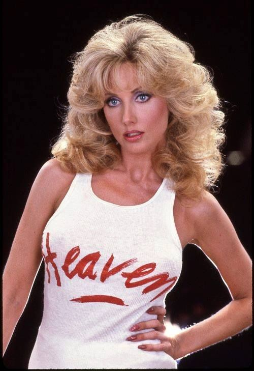 Morgan Fairchild... whom I've seen naked.  Yeah that's the ticket.