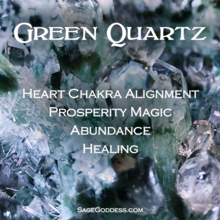 The properties of Green Quartz are many. These are just a few of the benefits of working with this incredible healing stone. What draws you most to Green Quartz?