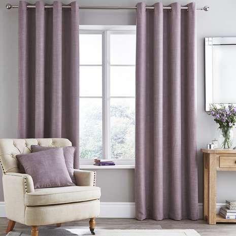 The 25 best purple eyelet curtains ideas on pinterest purple bedroom curtains purple - Mauve bedroom decorating ideas ...