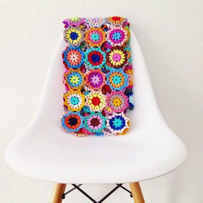 Japanese Flower Blanket (ANNEMARIES CROCHET BLOG ...