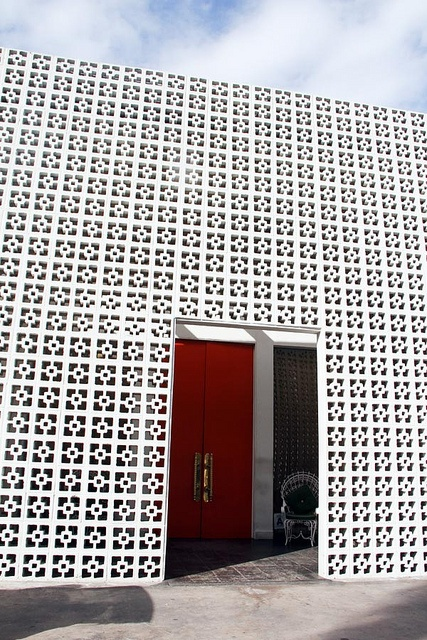 Breeze Blocks - The Parker Palm Springs by ishandchi, via Flickr