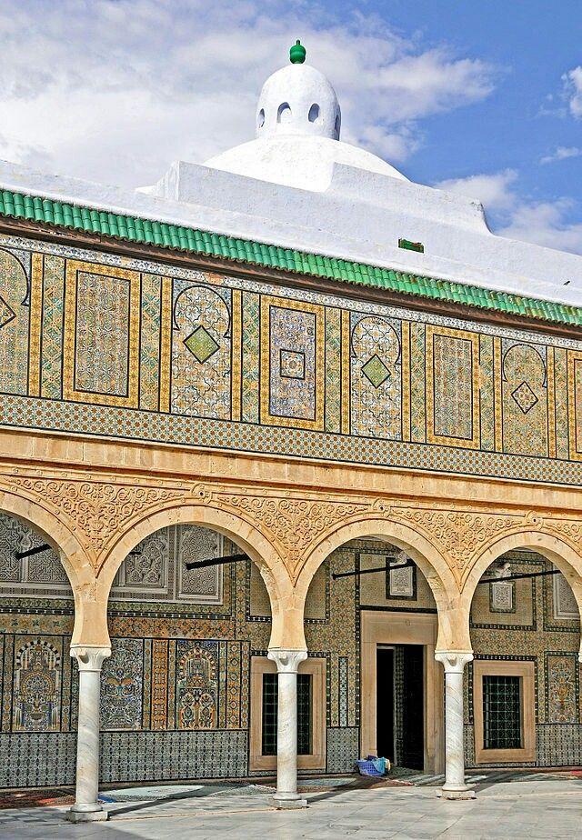 Mausolée sidi Sahbi, Kairouan, Tunisie