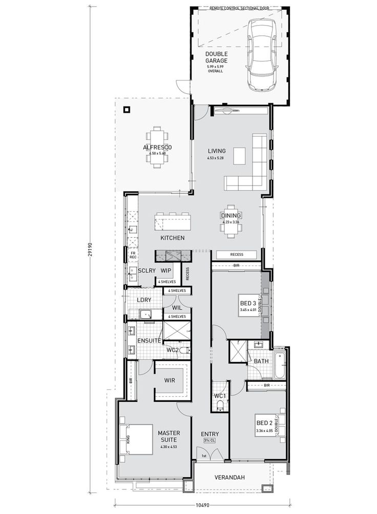 Floor Plan 2 Story No Garage If you are looking for house