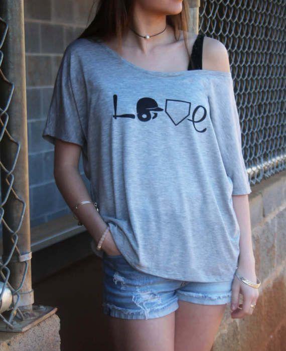 Baseball Love Shirt - Baseball Mom Shirt - Love Baseball - Womens Baseball Shirt - Baseball Wife Shirt - Baseball Tee - Baseball Shirt - Tee