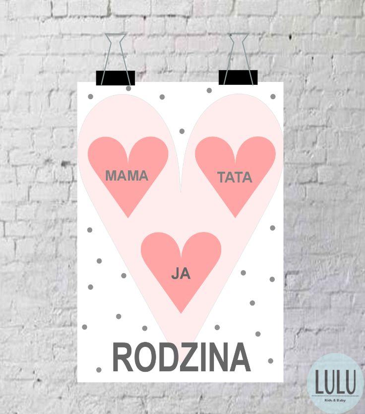 Poster 'Family' / Plakat 'Rodzina'