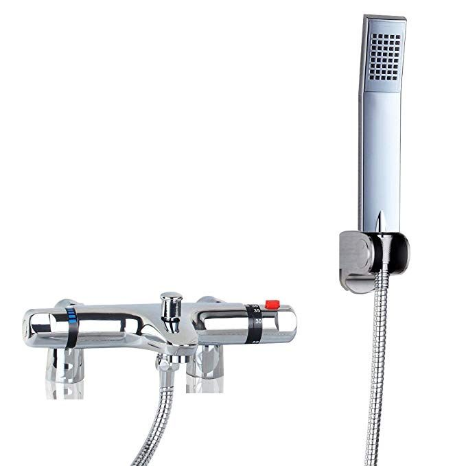 Ouboni Thermostatic Bathroom Shower Faucet Showering Mixer