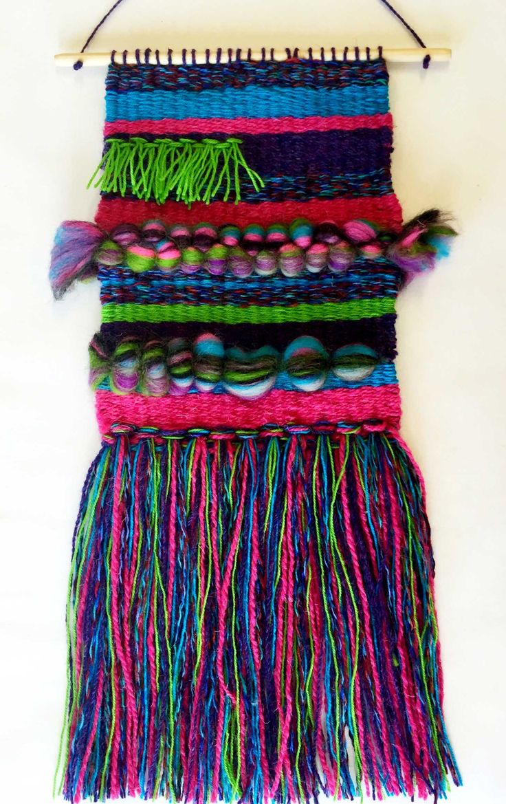 Woven wall hanging by juko designs