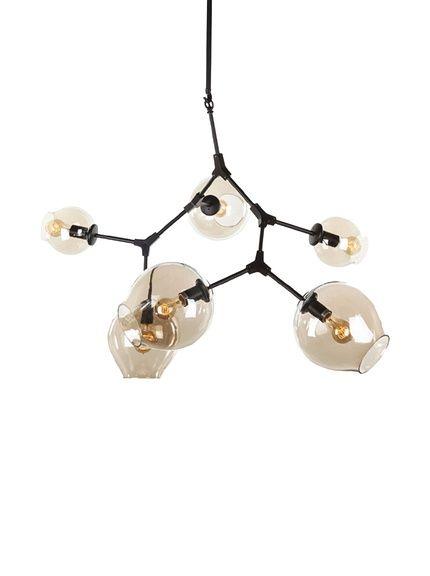 Control Brand Stige 6-Light Ceiling L& Black //  sc 1 st  Pinterest & 59 best Interior Lighting Pendant images on Pinterest | Interior ... azcodes.com