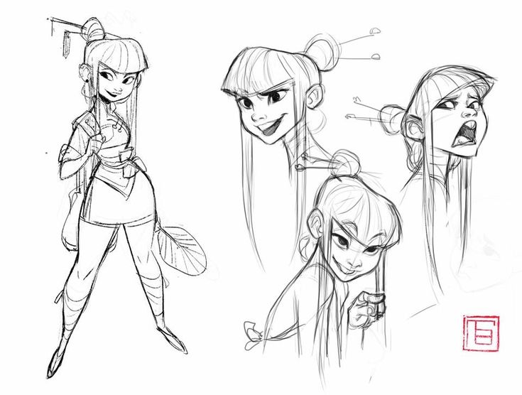 Character Design References Website : Best character outfit asians traditional clothes