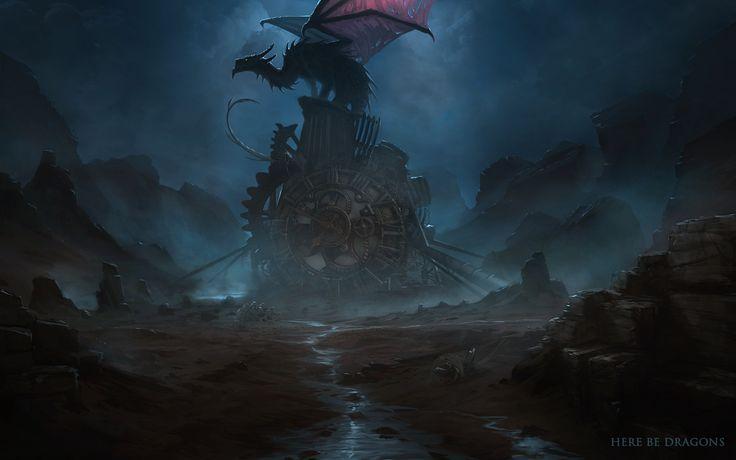 Here be Dragons - Ph. Dragon's Nest by telthona.deviantart.com on @deviantART
