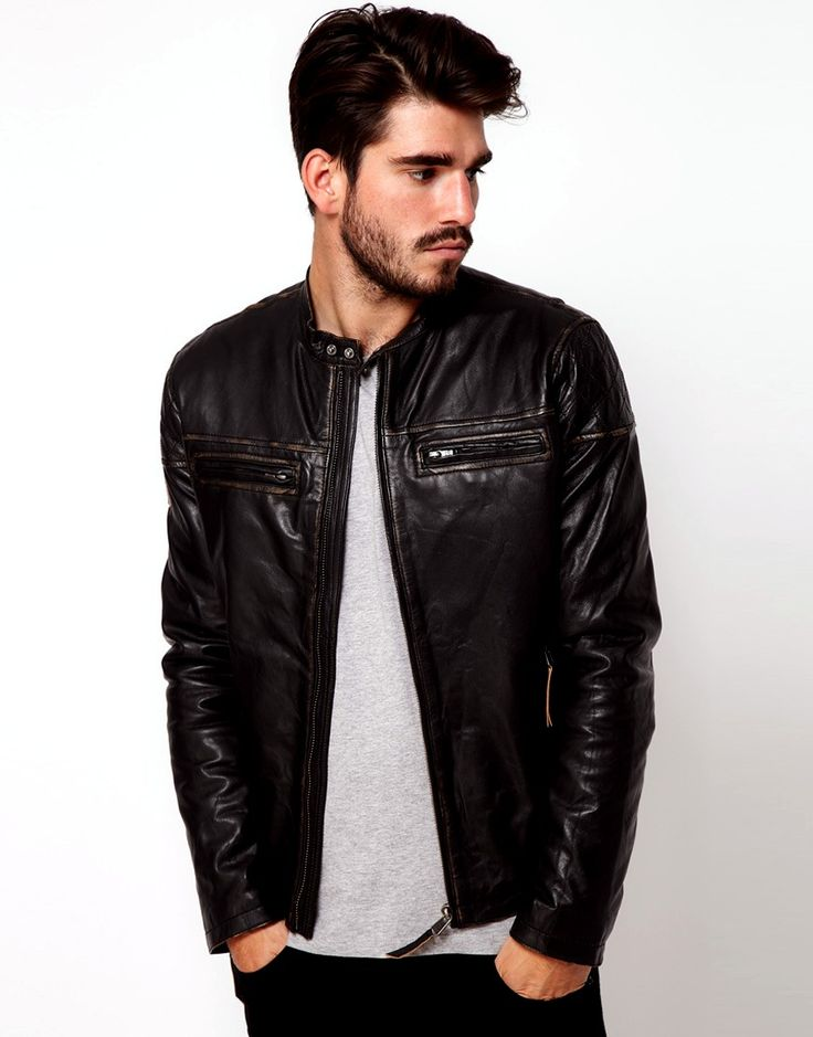 Best 25  Vintage leather jackets men ideas on Pinterest