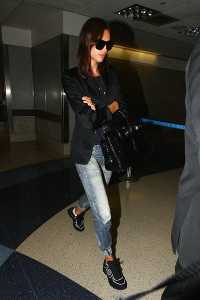 Irina Shayk Photos - Irina Shayk Departs from LAX - Zimbio