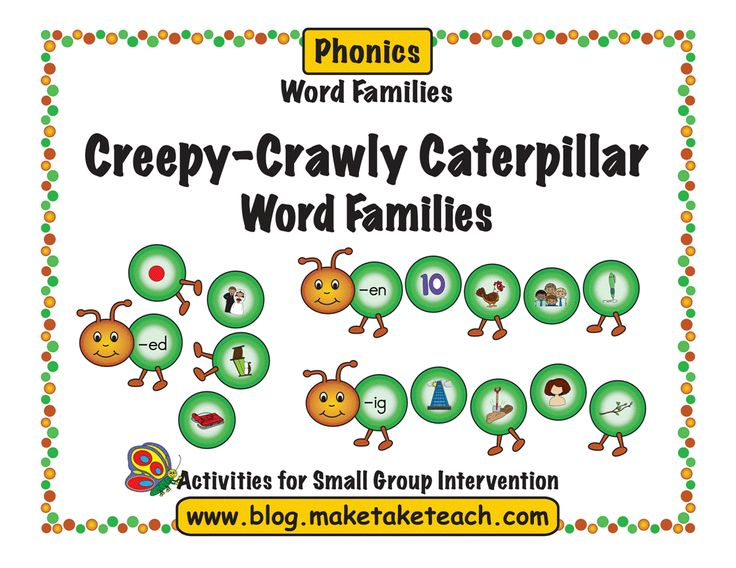 Fun Springtime Activity for Beginning Sounds and Word Families