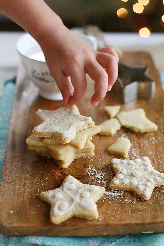 Vegan Sugar Cookies  http://christmascookiesblog.blogspot.com/2014/12/vegan-sugar-cookies-recipe.html?m=1