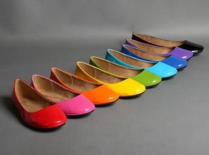 yes please.Women Fashion, Woman Fashion, Style, Colors, Rainbows Flats, Flats Shoes, Bridesmaid Shoes, Ballet Flats, Flat Shoes