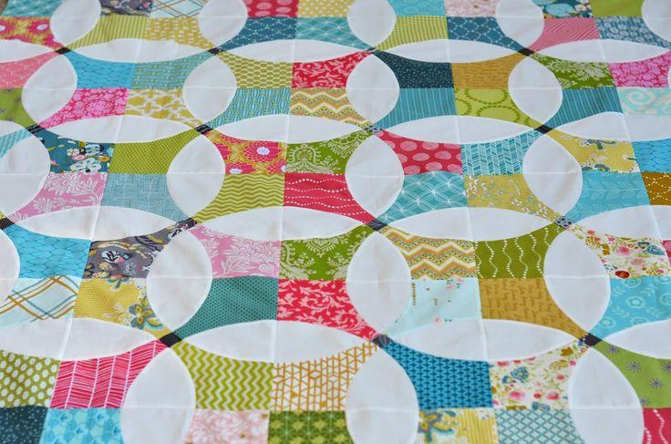 Hyacinth Quilt Designs: Flowering Snowball Quilt