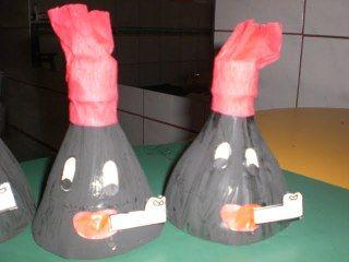 Reciclagem: Lembrancinha para o Dia do Folclore feito com garrafa pet | Atividades Jardim colorido para o Ensino Infantil