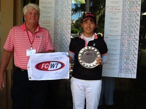 FCWT Junior Golf Tournament 2014 Karin Takayama girls winner