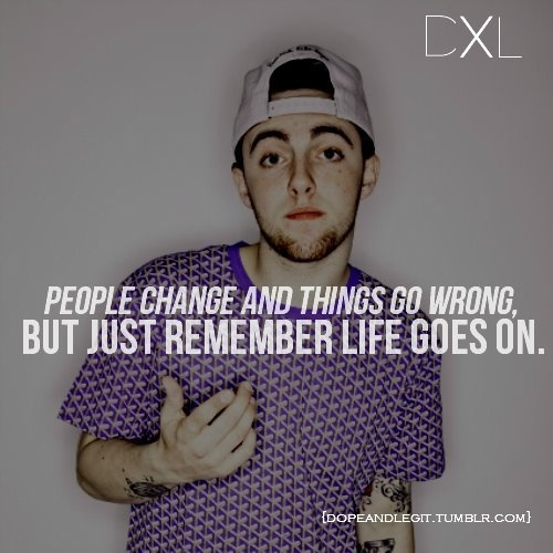 Mac Miller Song Quotes: 17 Best Mac Miller Quotes On Pinterest