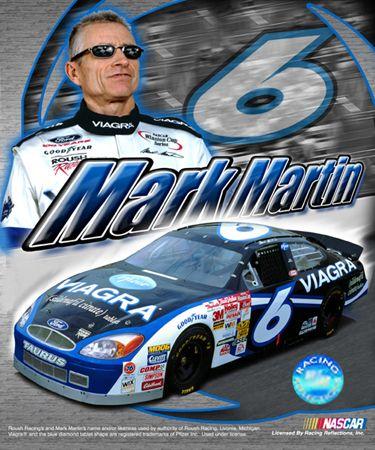 NASCAR Drivers - Mark Martin