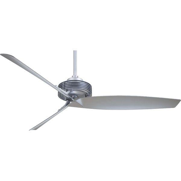Minka Aire F733 Sl Gilera 62 Inch Silver Ceiling Fan