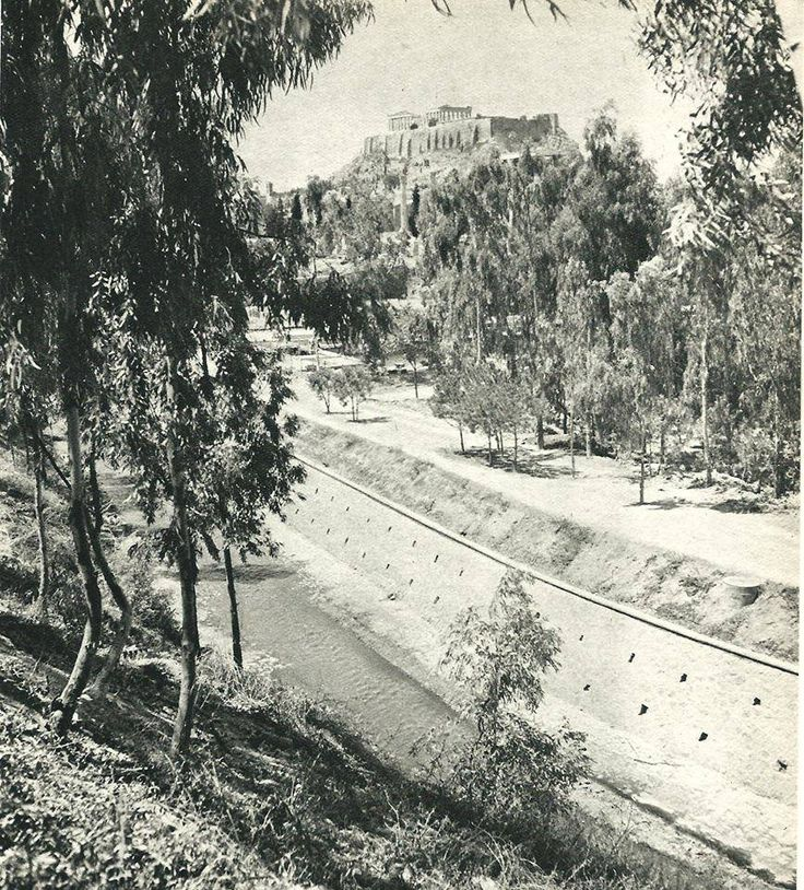 1940 ~ Illissos river in Athens
