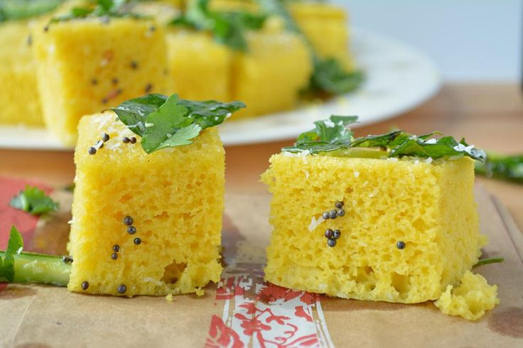 Instant Khaman Dhokla. Step by step recipe of this nutritious steamed appetizer. A perfect tea time Gujarati snack made with gram flour and mixed with spices