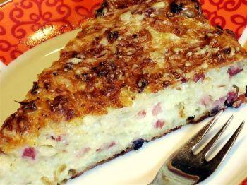 Foto Rezept Zwiebelkuchen - geschüttelt