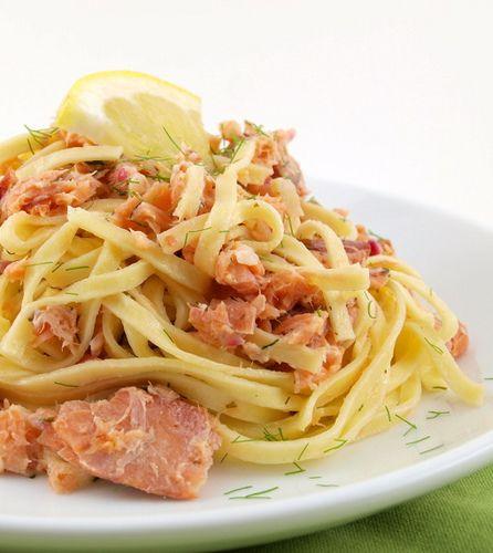 Smoked Salmon Pasta | Baking and Cooking Blog - Evil Shenanigans