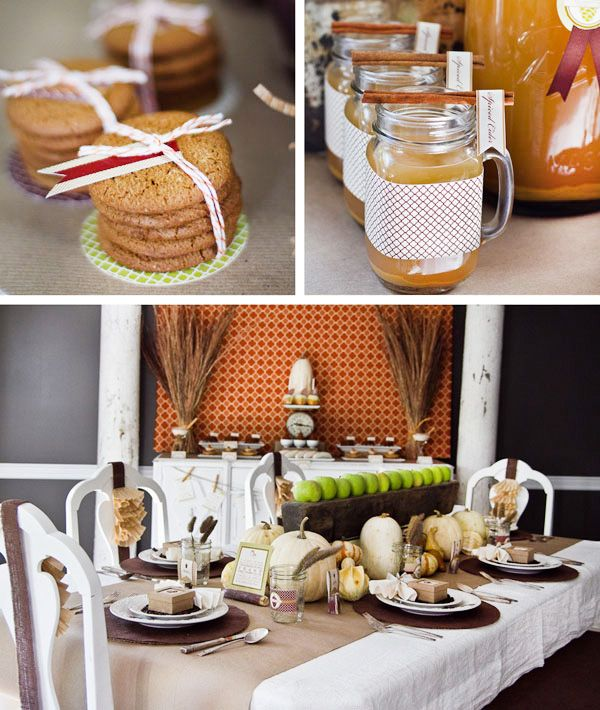 A Modern & Inviting Fall Harvest Party