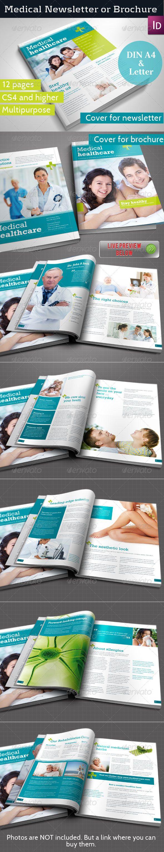 Medical Newsletter Template 279 best newsletter material