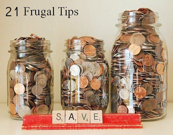 Lots of great ideas here! 21 frugal tips to try this year