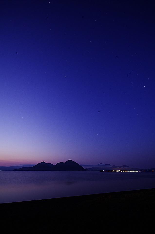 洞爺湖(北海道) Lake Toya, Hokkaido, Japan