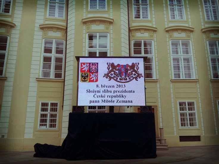 Waiting for tomorrow - inauguration of new Czech President