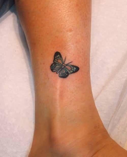35 Outstanding Foot Tattoo Designs: 25+ Best Small Butterfly Tattoo Ideas On Pinterest